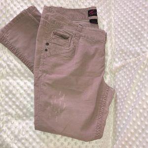Torrid blush pink corduroy 16 tall 🖤 skinny